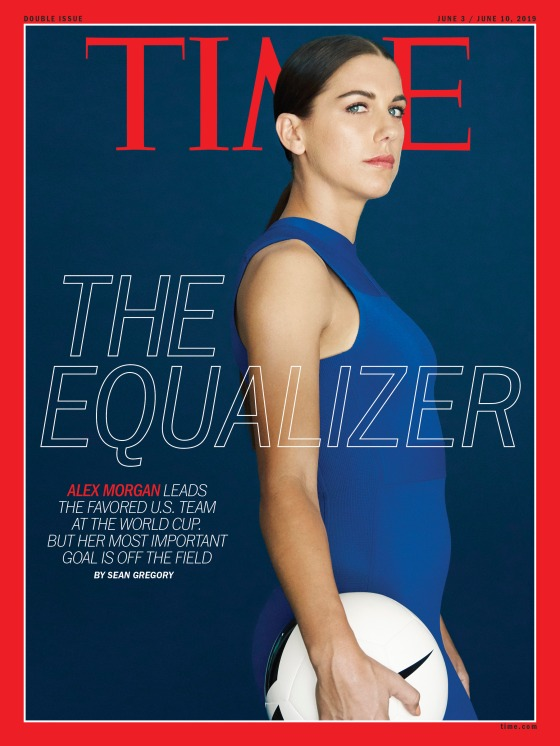 Alex Morgan World Cup TIME Magazine Cover