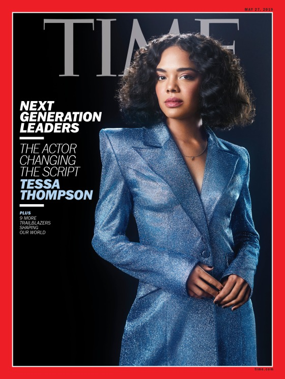 Next Generation Leaders Tessa Thompson Time Magazine Cover