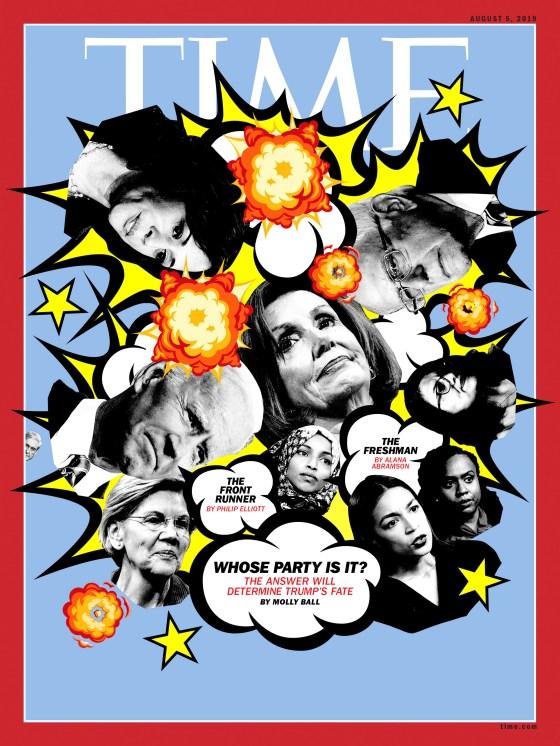 Democratic 2020 candidates cover