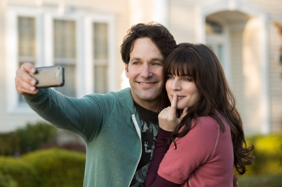Paul Rudd and Aisling Bea in Netflix's 'Living With Yourself'