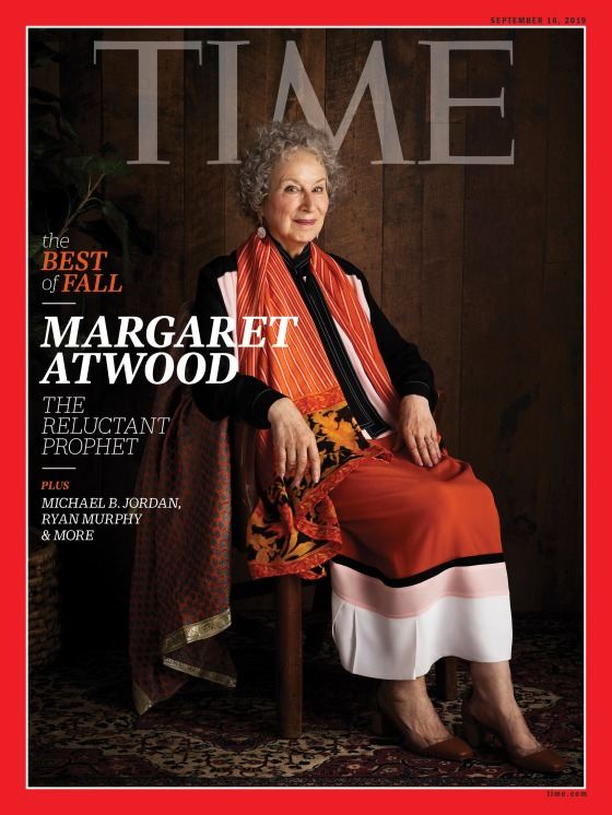 Margaret Atwood Best of Fall Time Magazine cover
