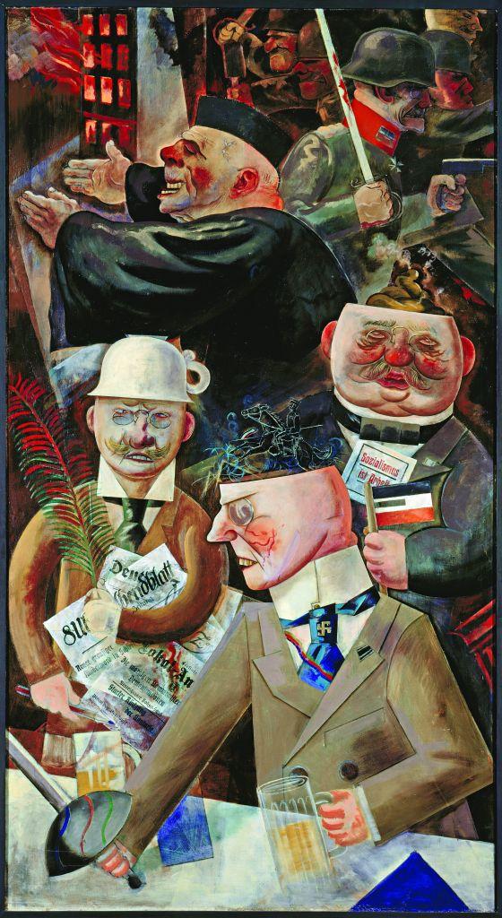 The Pillars of Society, George Grosz, 1926