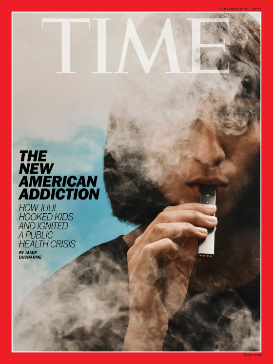 Juul The New American Addiction Time Magazine Cover