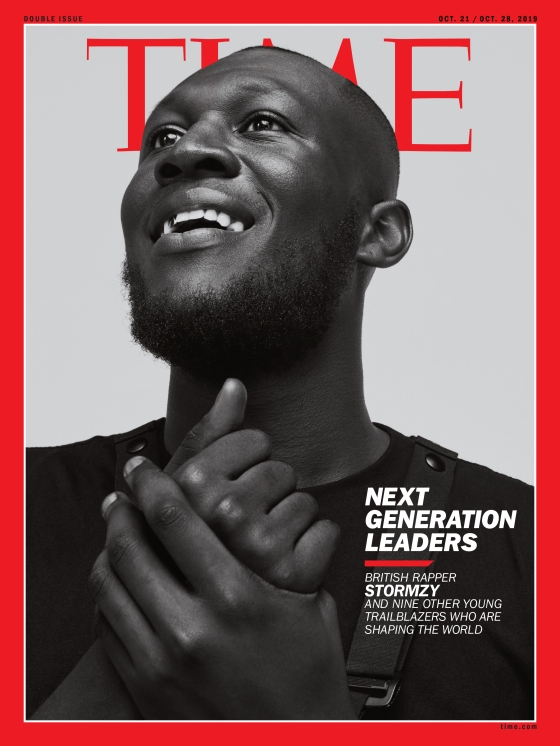 Stormzy NGL International Cover