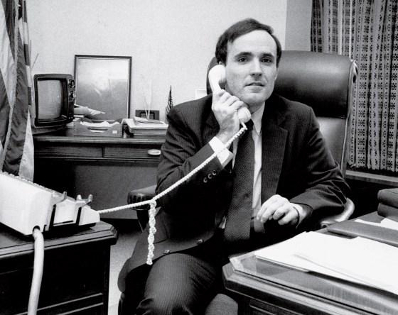 U.S. Attorney Rudolph Giuliani in his office 1983