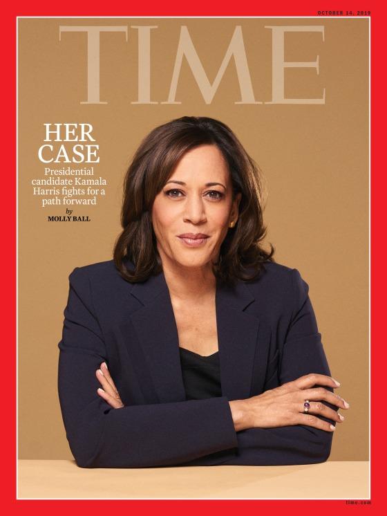 Her Case Kamala Harris Time Magazine Cover