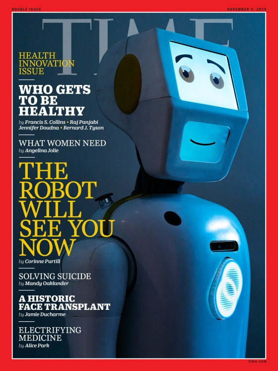 Health Innovation Issue Time Magazine cover